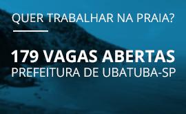 A Prefeitura de Ubatuba está com concurso aberto! Confira!