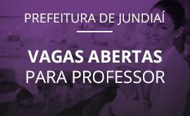 Garanta a sua vaga na Prefeitura de Jundiaí!