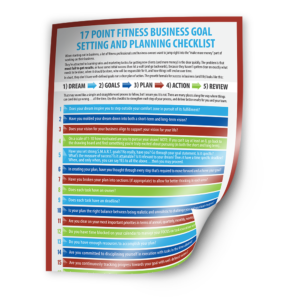 17 Point Fitness Business Goal Setting and Planning Checklist