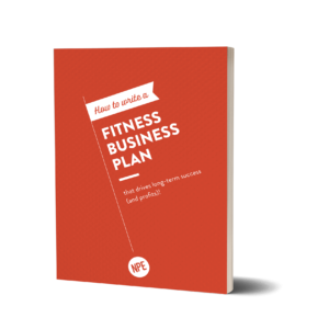 Fitness Business Plan Mockup