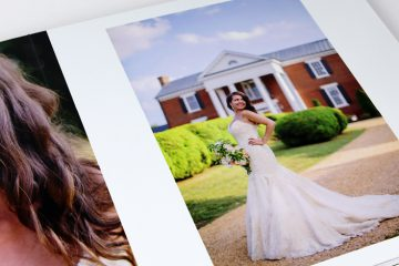 Wedding Photo Album by Sam Stroud Photography