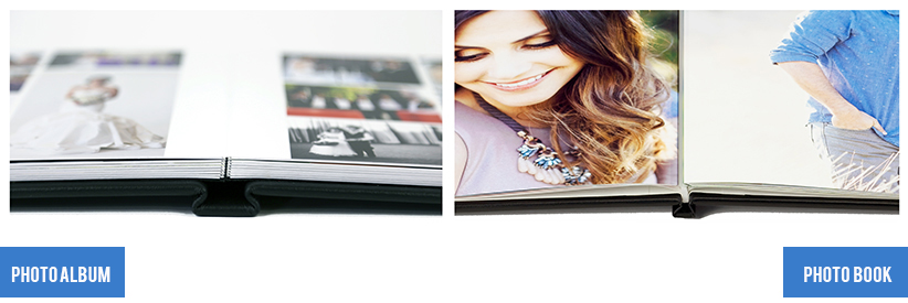 Difference between Photo Albums and Photo Books construction