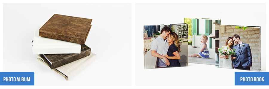 Differences between Photo Albums and Photo Books   Cover Options Available at Nations Photo Lab
