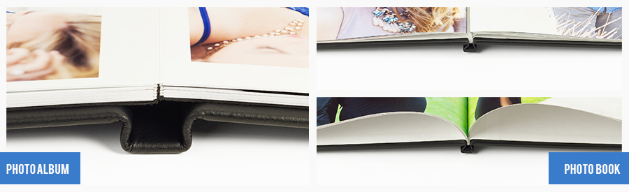 Difference between Photo Album and Photo Books page styles