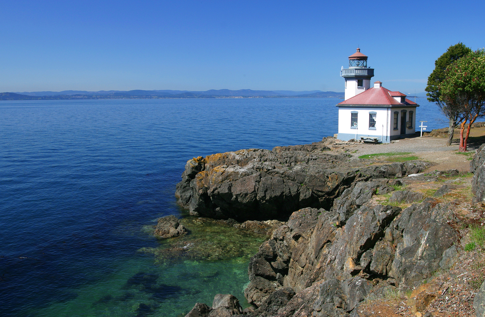 Lime Kiln Lighthouse San Juan Islands Washington State