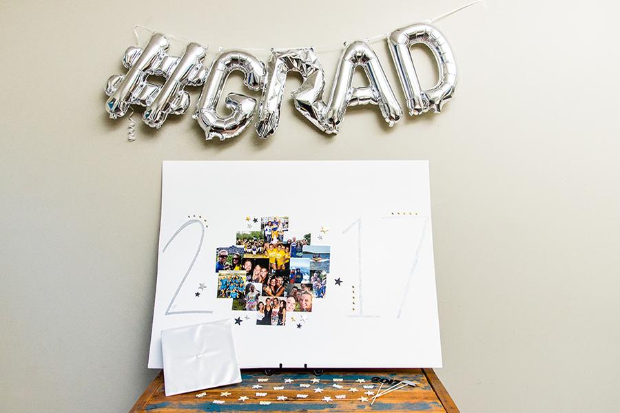 DIY Graduation Poster