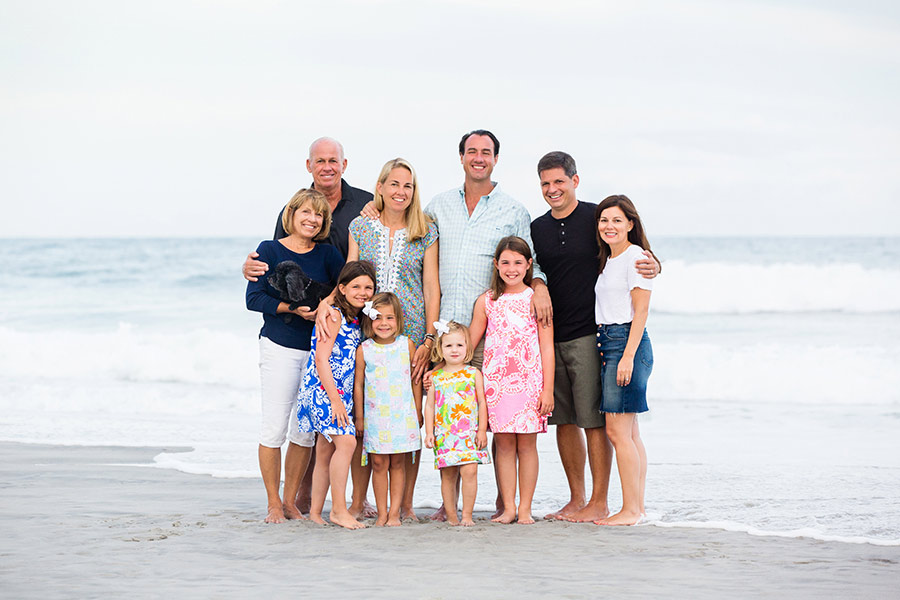 Family Beach Photography Outfit Inspiration - Erin Costa Photography