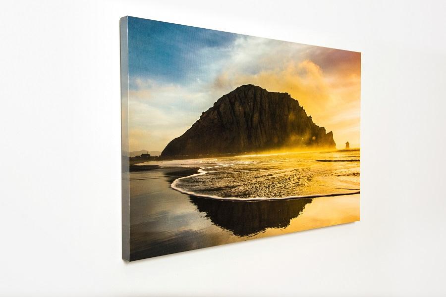 Landscape Canvas on Studio Wall
