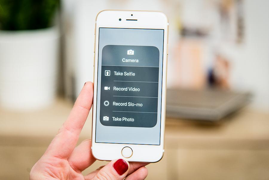 camera settings on iphone