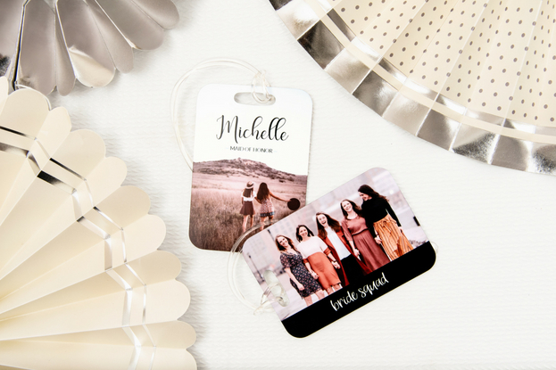 Custom luggage tags for your bridesmaids
