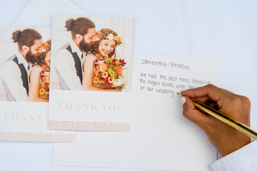 Wedding Thank You Etiquette.Wedding Thank You Card Etiquette Nations Photo Lab
