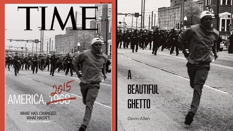 Cover of TIME magazine in 2015