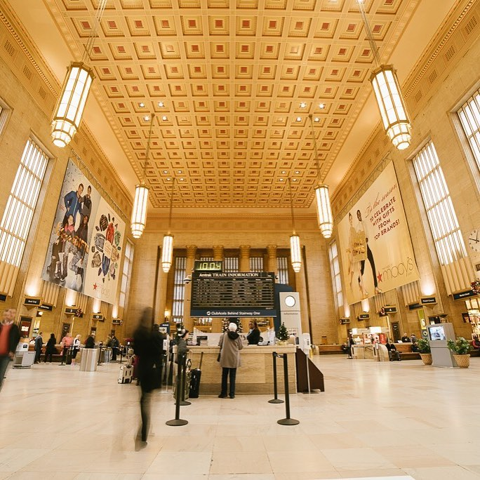 30th Street Station in Philadelphia, PA