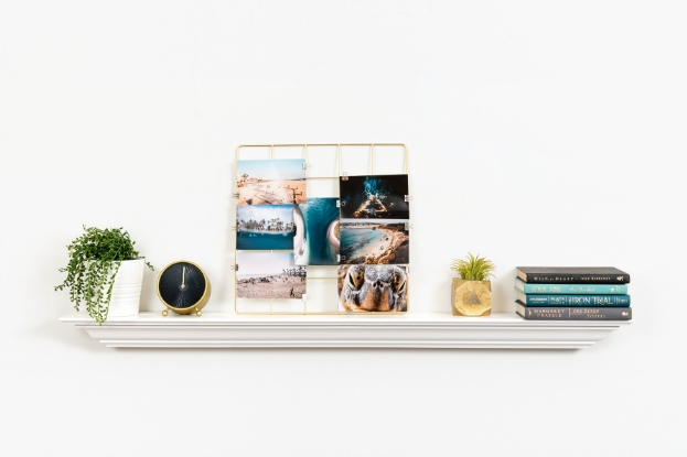 Prints displayed in photo grid