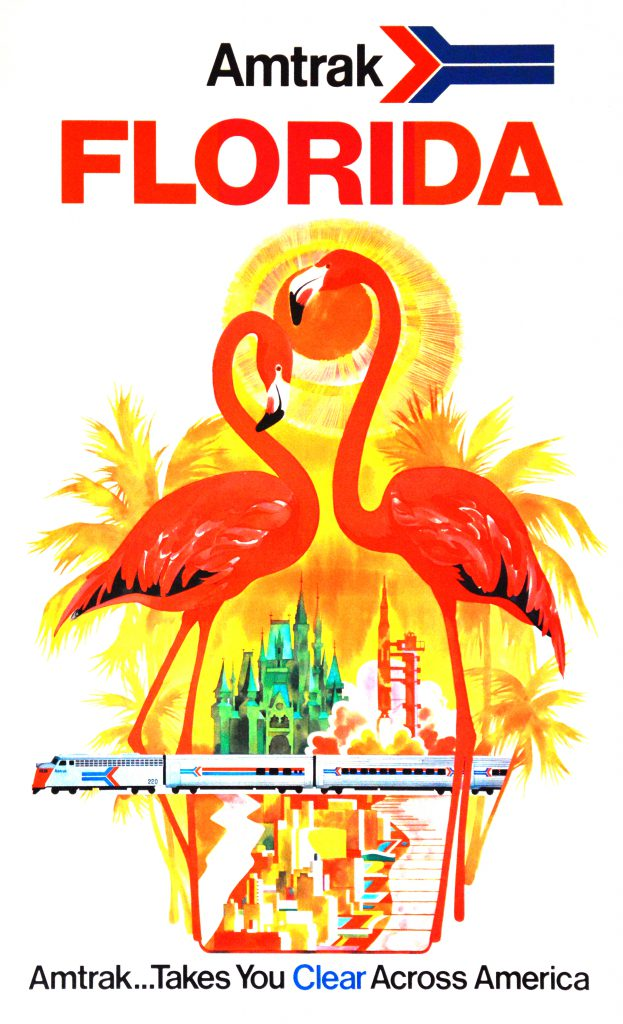 Travel to Florida poster