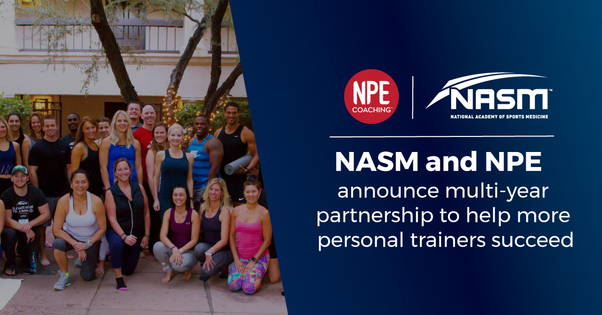 NASM and NPE announce multi-year partnership