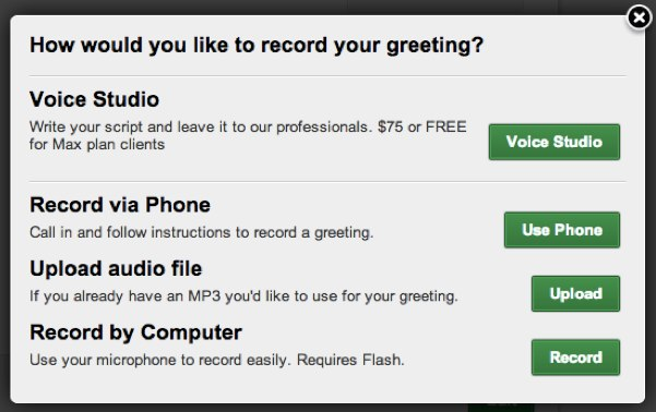 How do i record my own greetings extensionsrecord 2g m4hsunfo