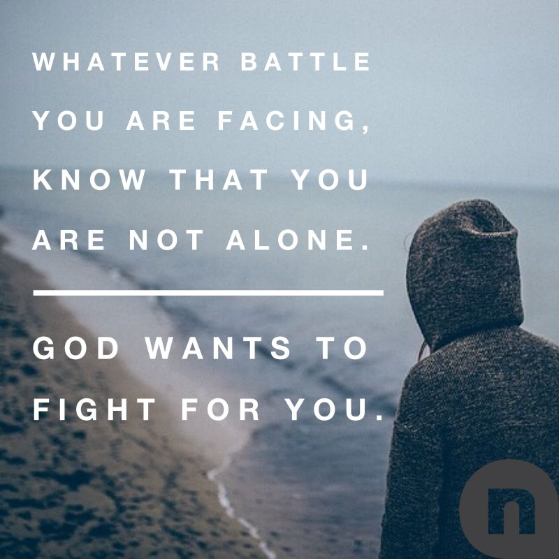 Let God Fight For You Devotionals Newspring Church