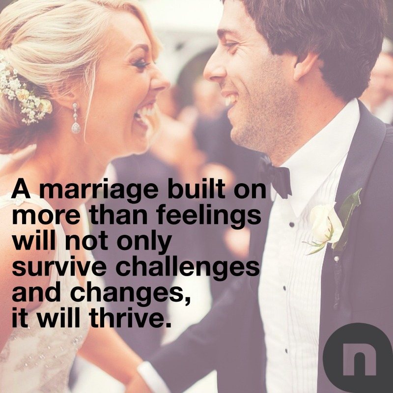 Why you want to marry someone