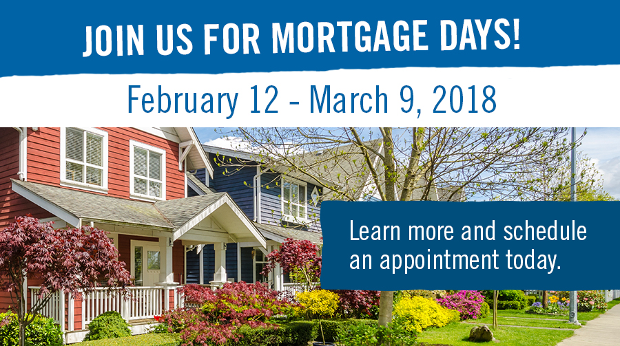 Join us for Mortgage Days!