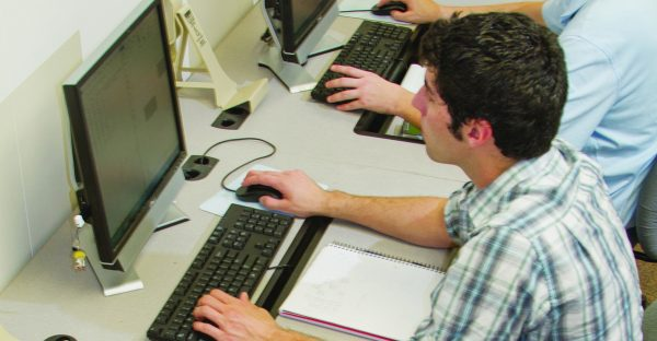 Computer Info Systems Male Student