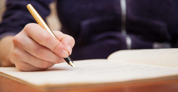 Creative Writing Hand