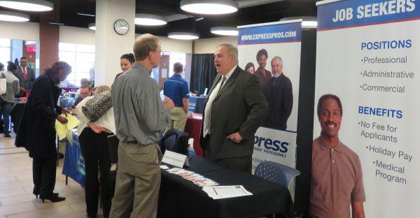 Job Fair Vendors Tables