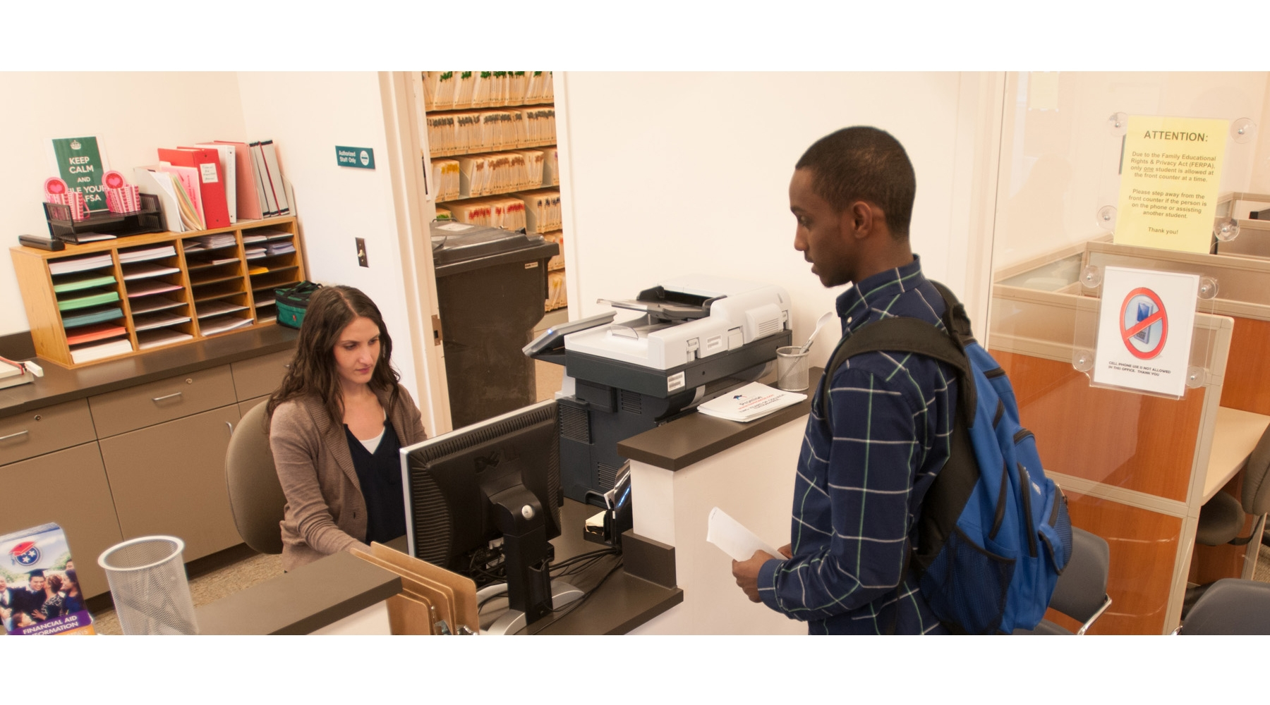 Financial Aid Assisting Student 800