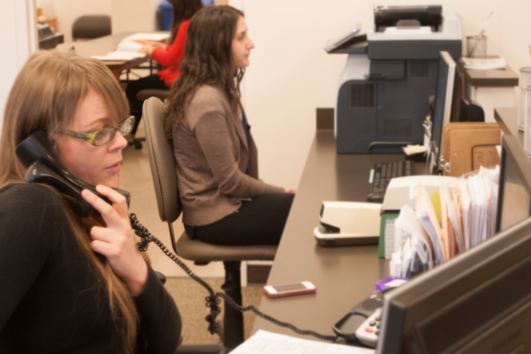 Financial Aid Front Desk Employees