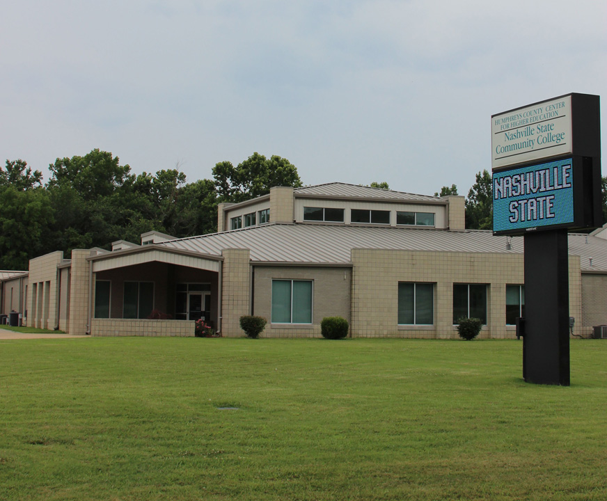Humphreys Co Campus Main Entrance