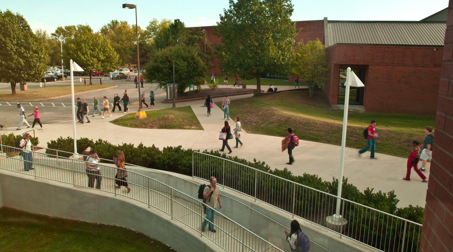 Change Of Class Near K Bldg Walkway