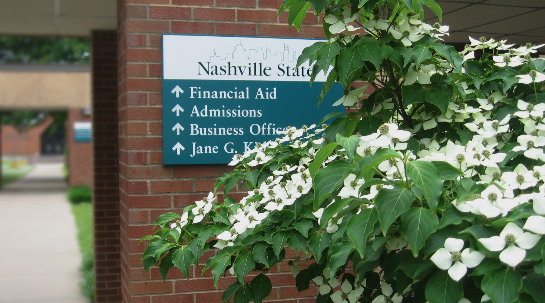 Main Campus Signage