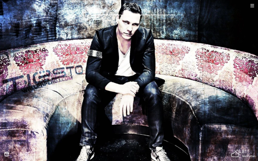 Tiesto HD Wallpapers New Tab Theme