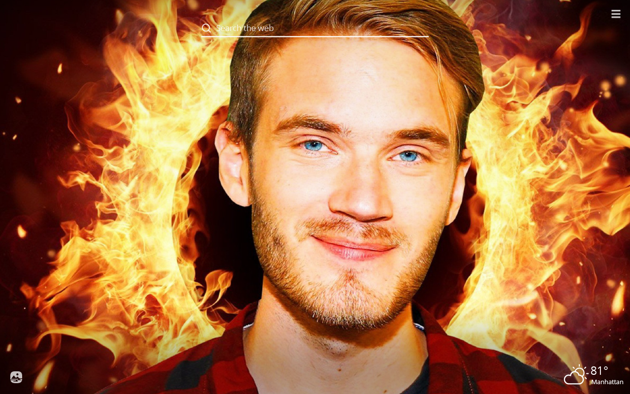 Pewdiepie Hd Wallpapers New Tab Theme Glami Life