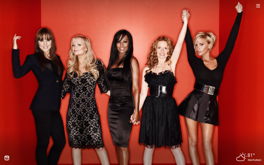 Spice Girls HD Wallpapers New Tab