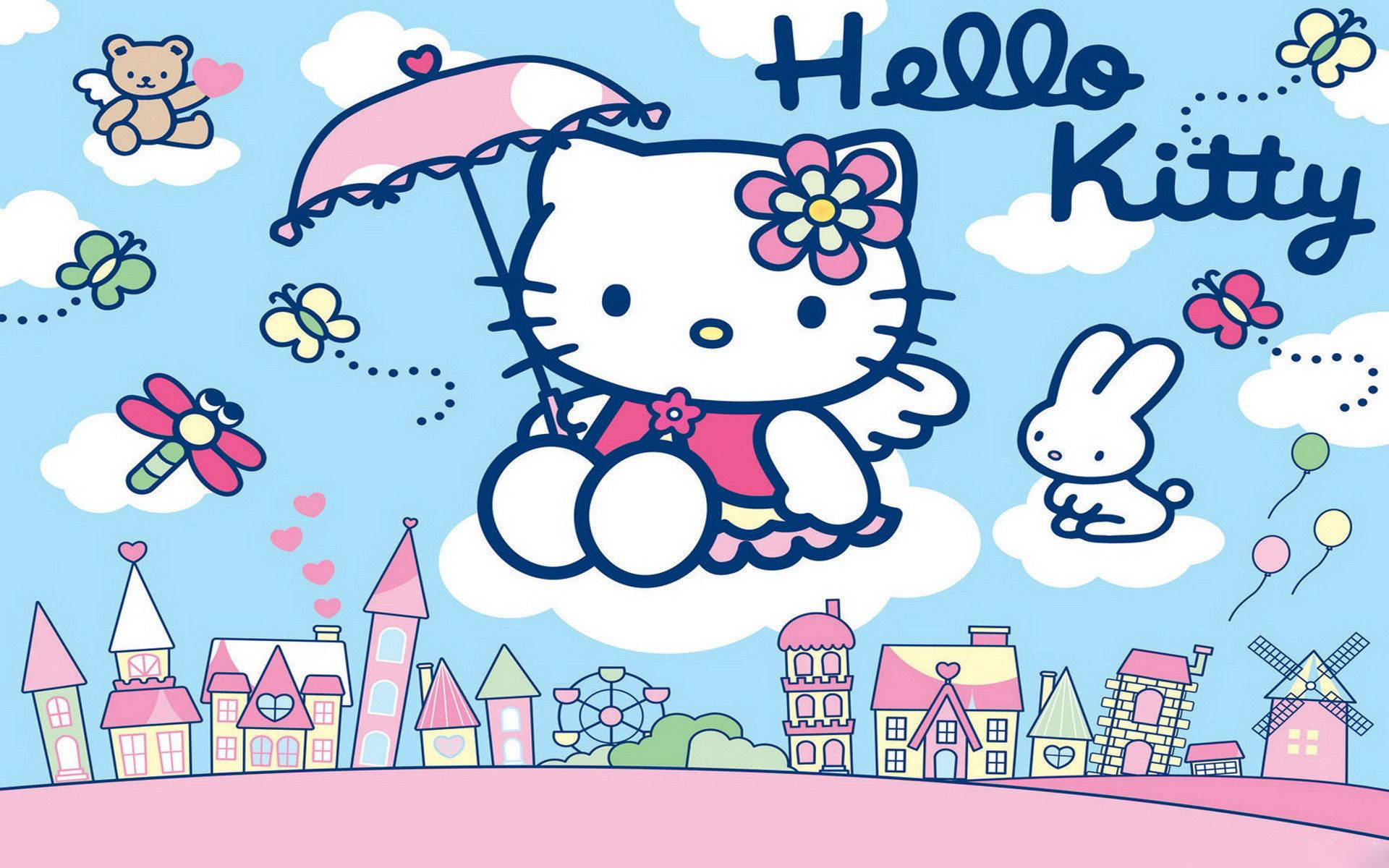 Hello Kitty Hd Wallpapers New Tab Theme Playtime