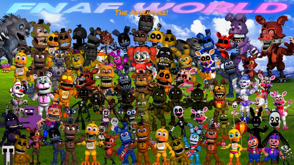 FNaF World HD Wallpapers New Tab Theme