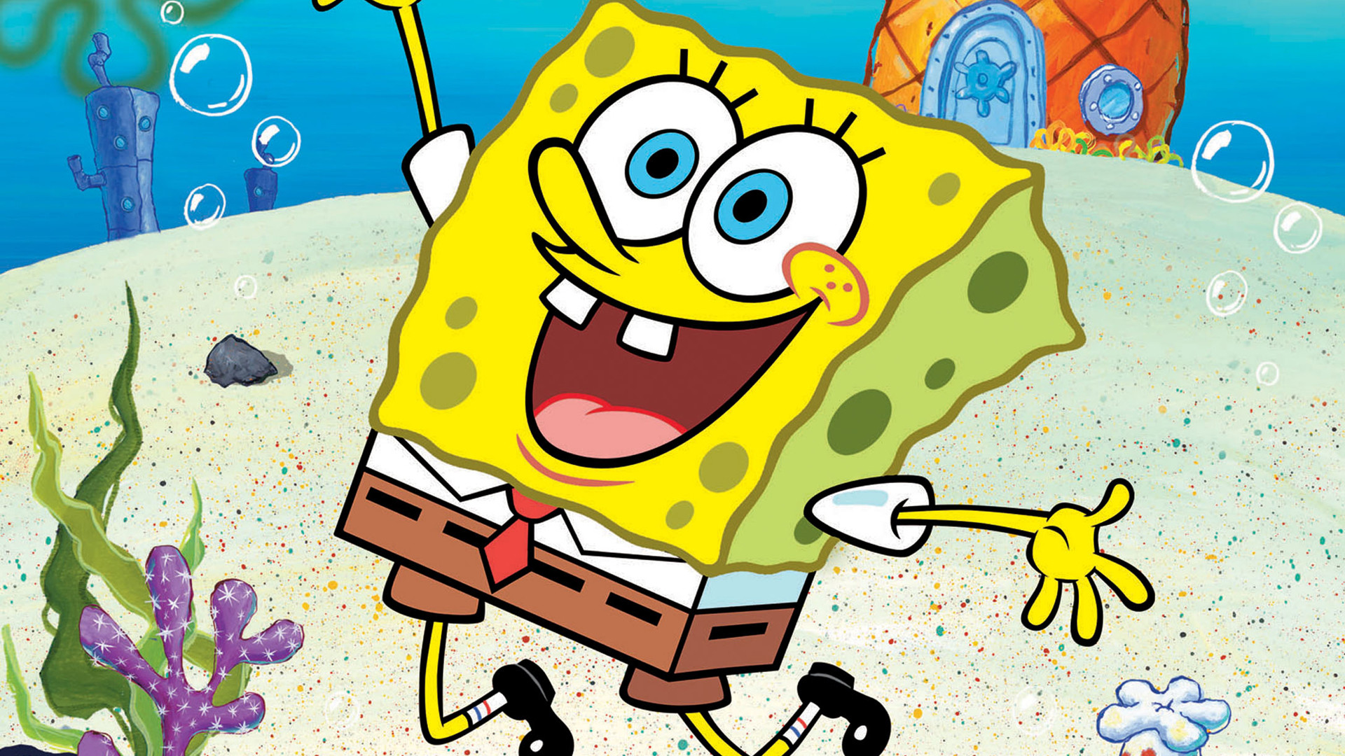 Sponge Bob Hd Wallpapers New Tab Theme Playtime