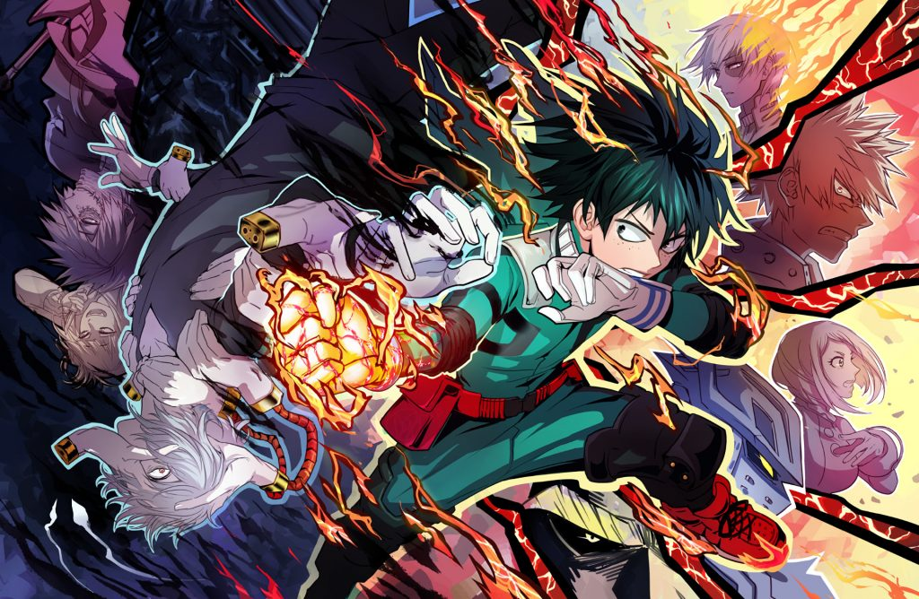 Boku No Hero Academia HD Wallpapers New Tab Theme