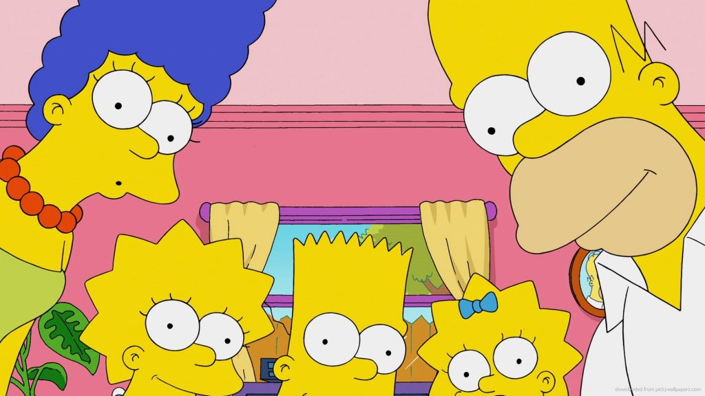 The Simpsons HD Wallpapers New Tab Theme