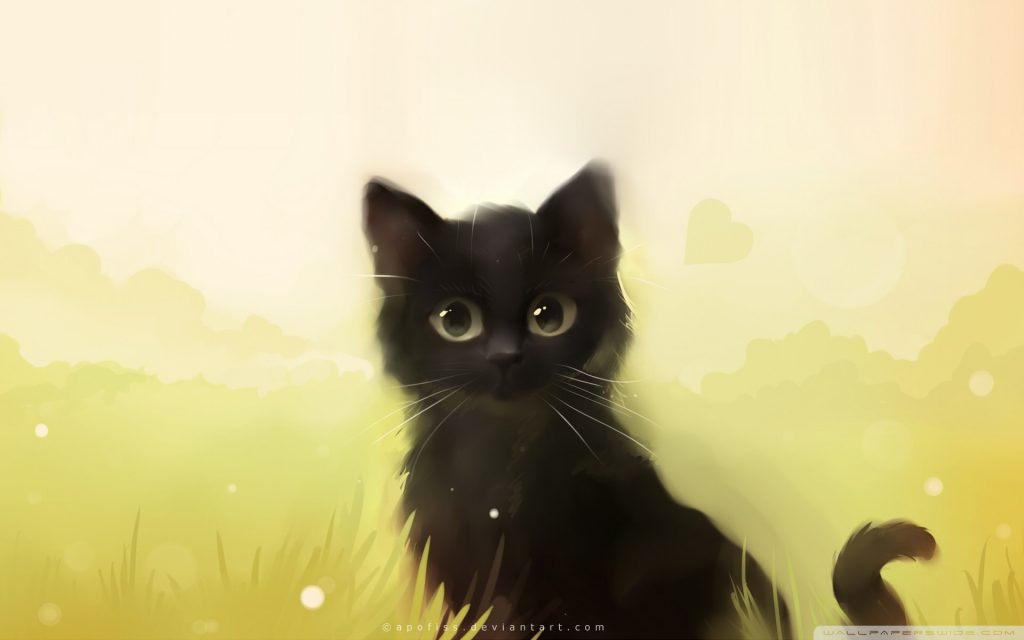 Anime Cat HD Wallpapers New Tab Theme