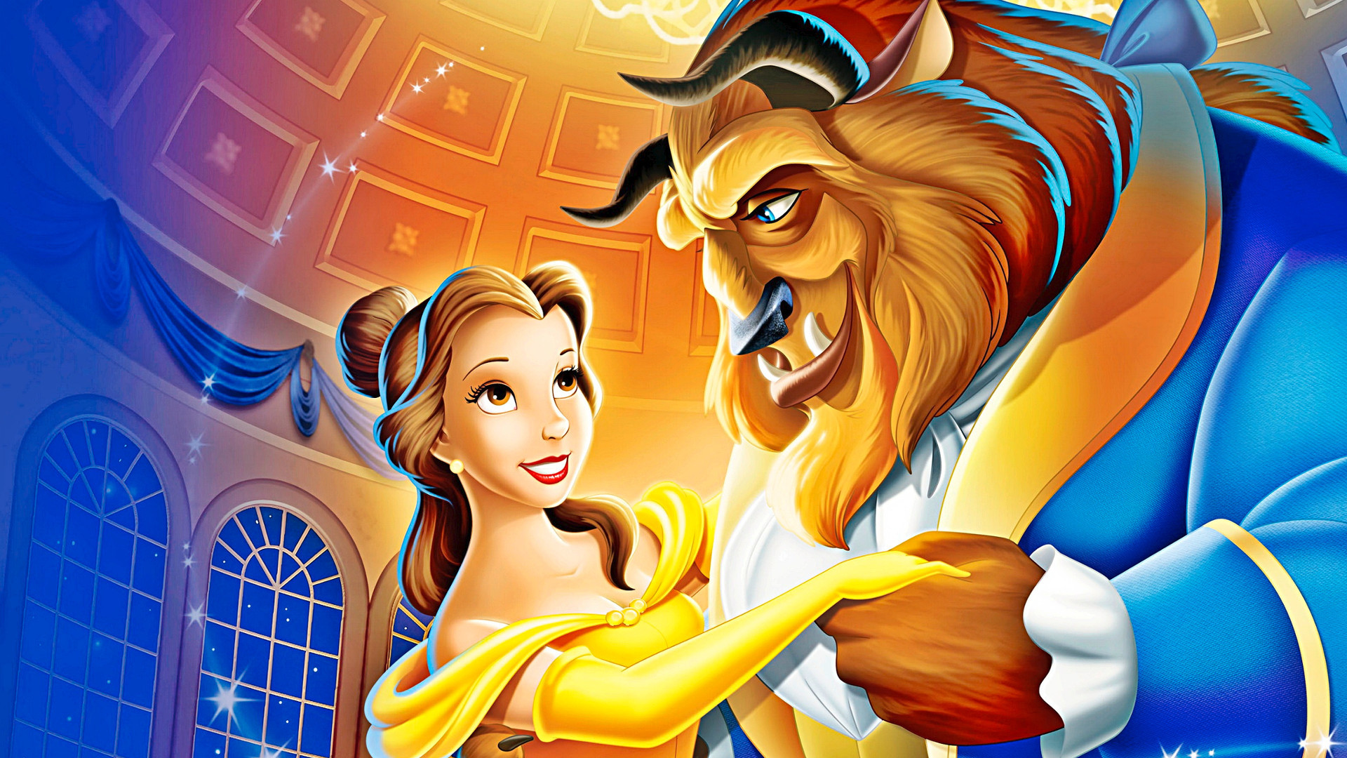 Beauty And The Beast Hd Wallpapers New Tab Playtime