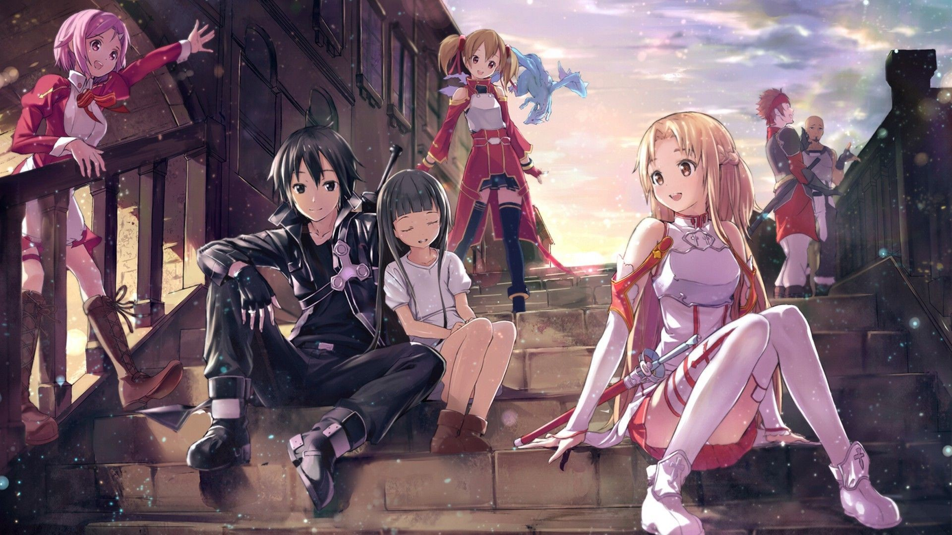 Sword Art Online Hd Wallpapers New Tab Theme Playtime