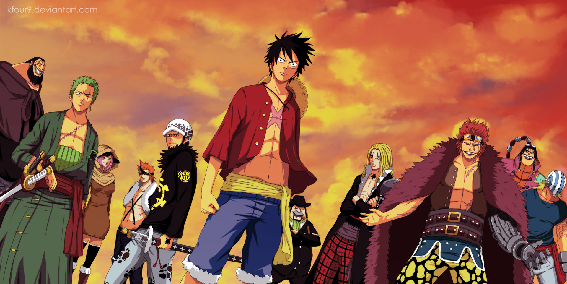 One Piece Hd Wallpaper New Tab Theme Playtime