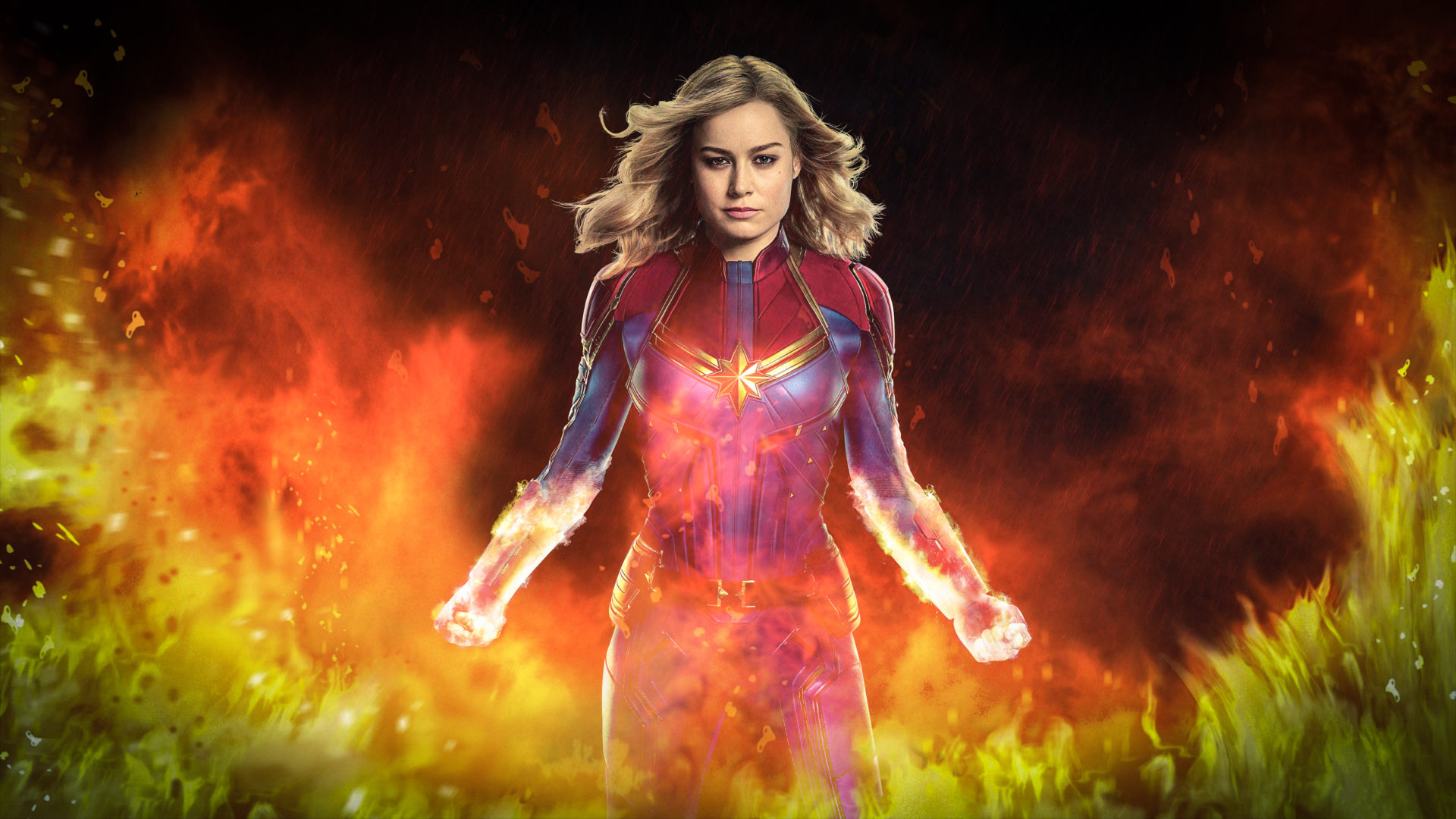 Captain Marvel Hd Wallpaper New Tab Theme Playtime