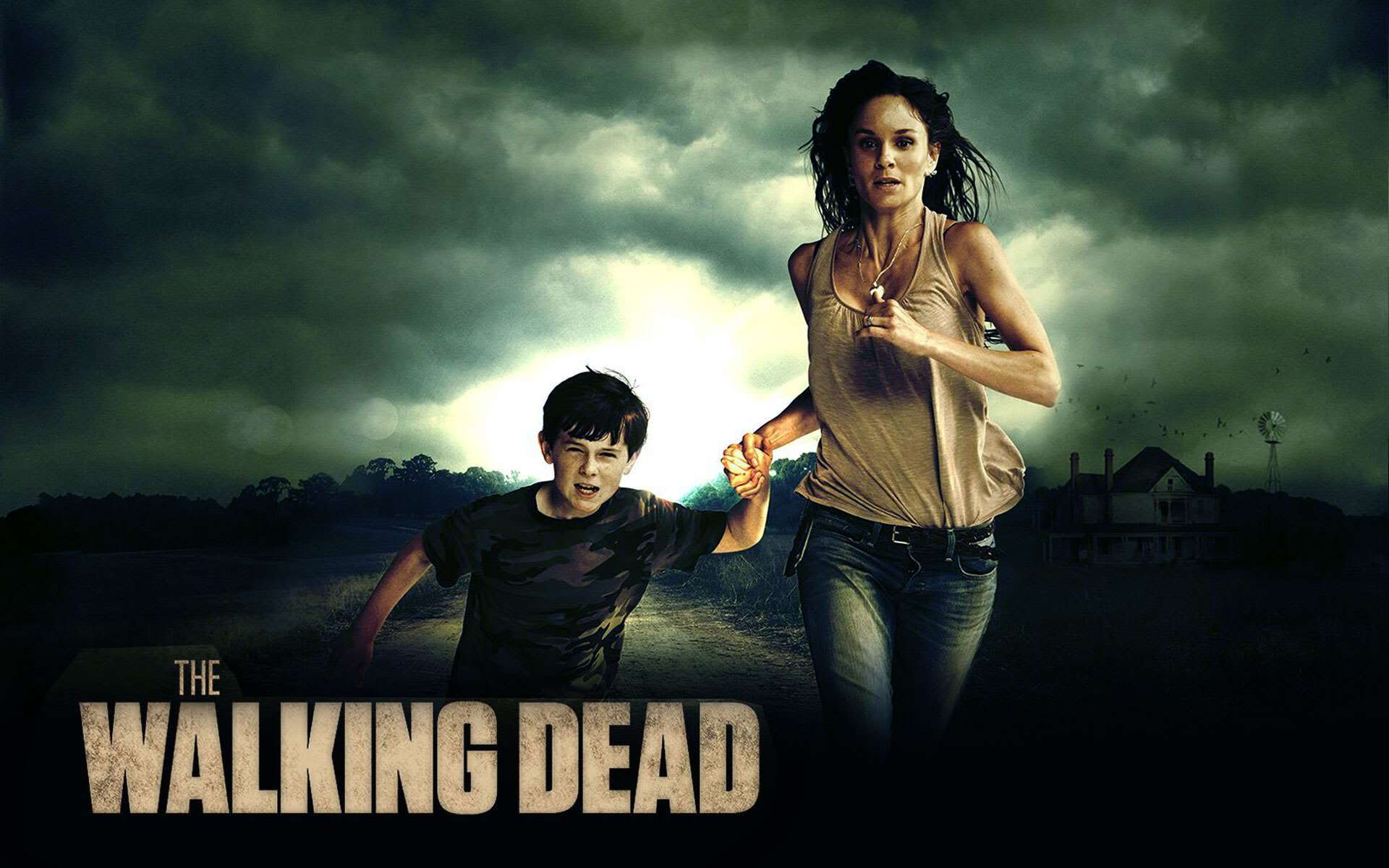 The Walking Dead HD Wallpaper New Tab Theme