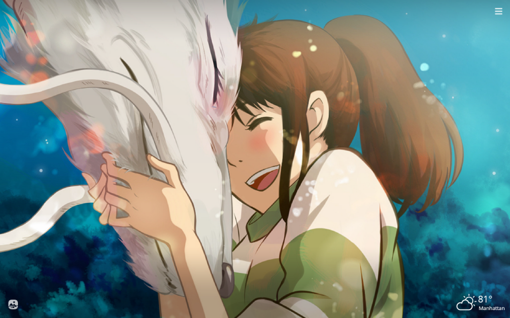Spirited Away HD Wallpapers New Tab Theme