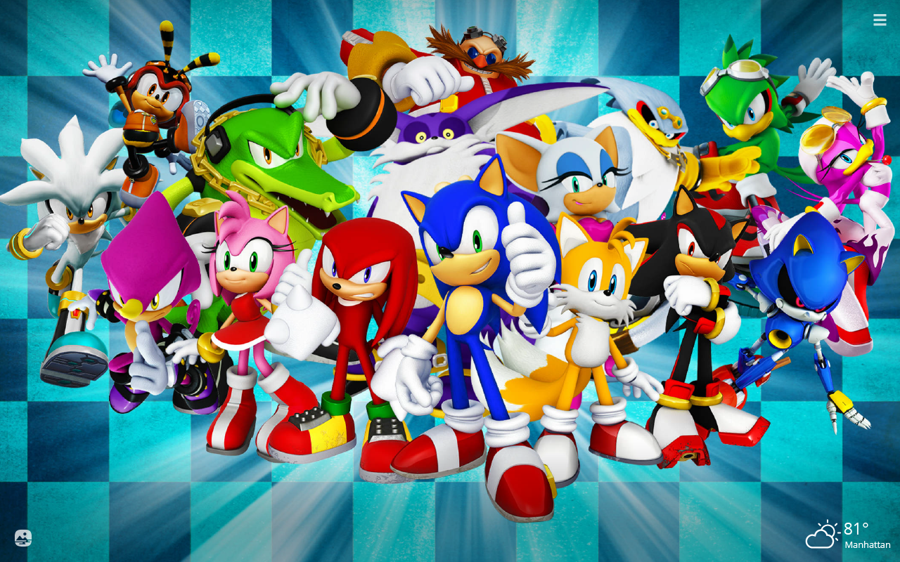 Sonic The Hedgehog Hd Wallpapers New Tab Theme Playtime