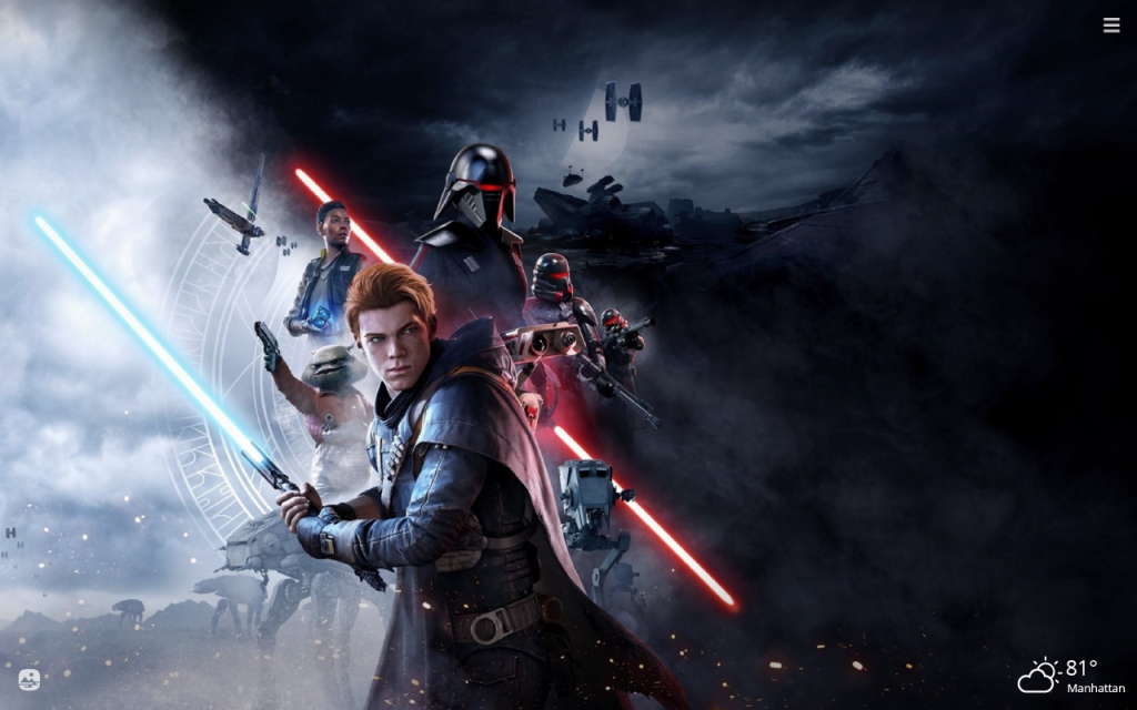 Star Wars Jedi HD Wallpapers New Tab Theme