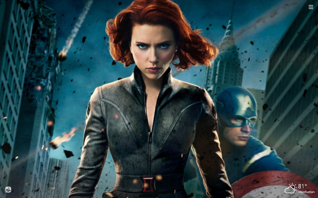 Black Widow HD Wallpapers New Tab Theme